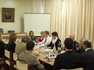 Visita do Ministro Britânico Jeremy Browne